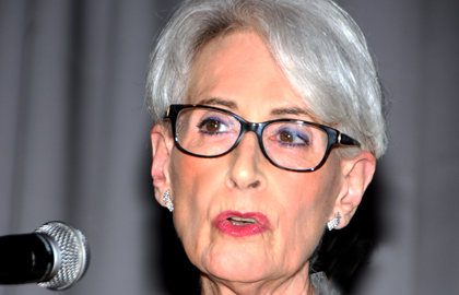 Congratulations to Ambassador Wendy Sherman!