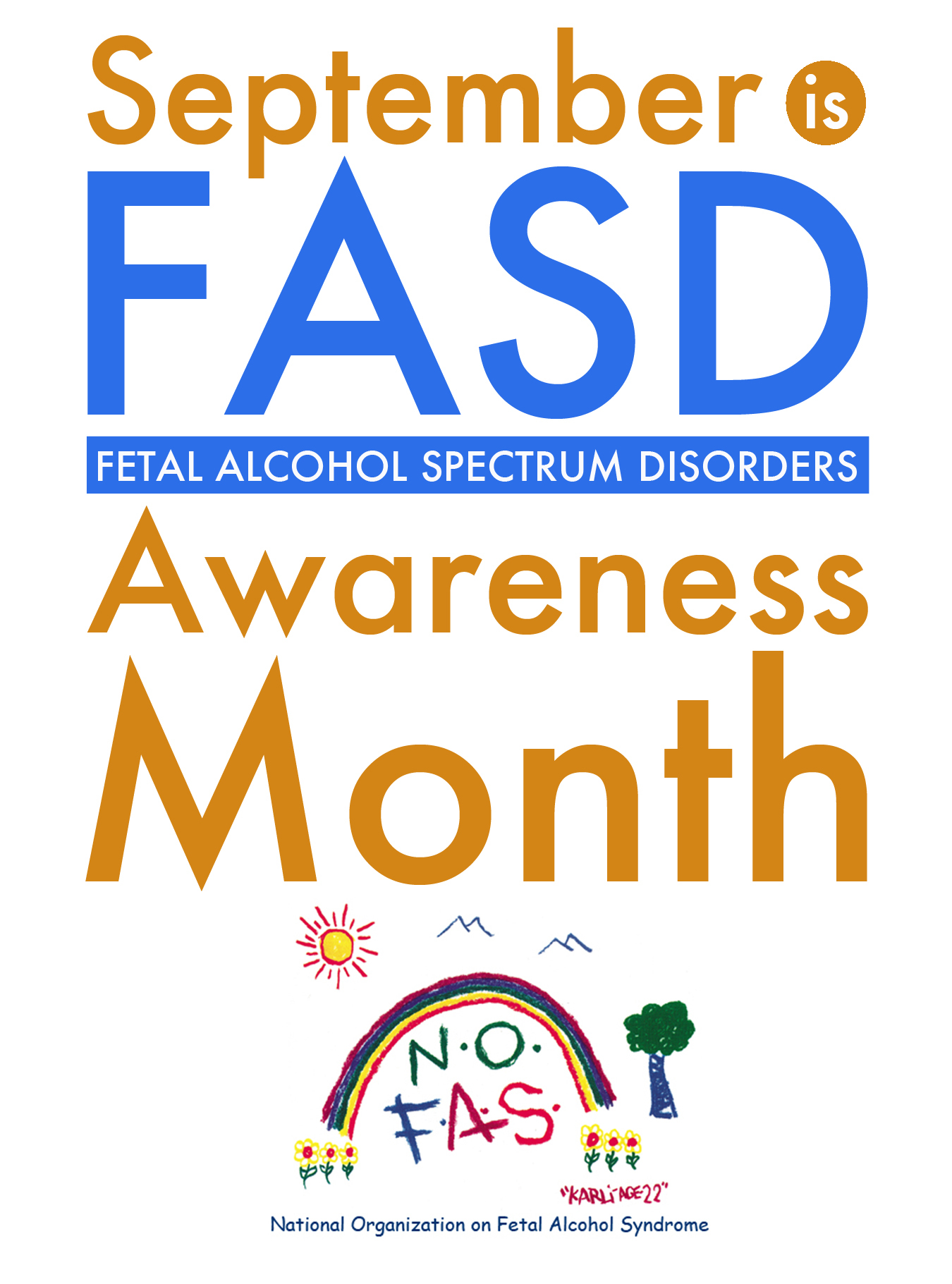 FASD Month national