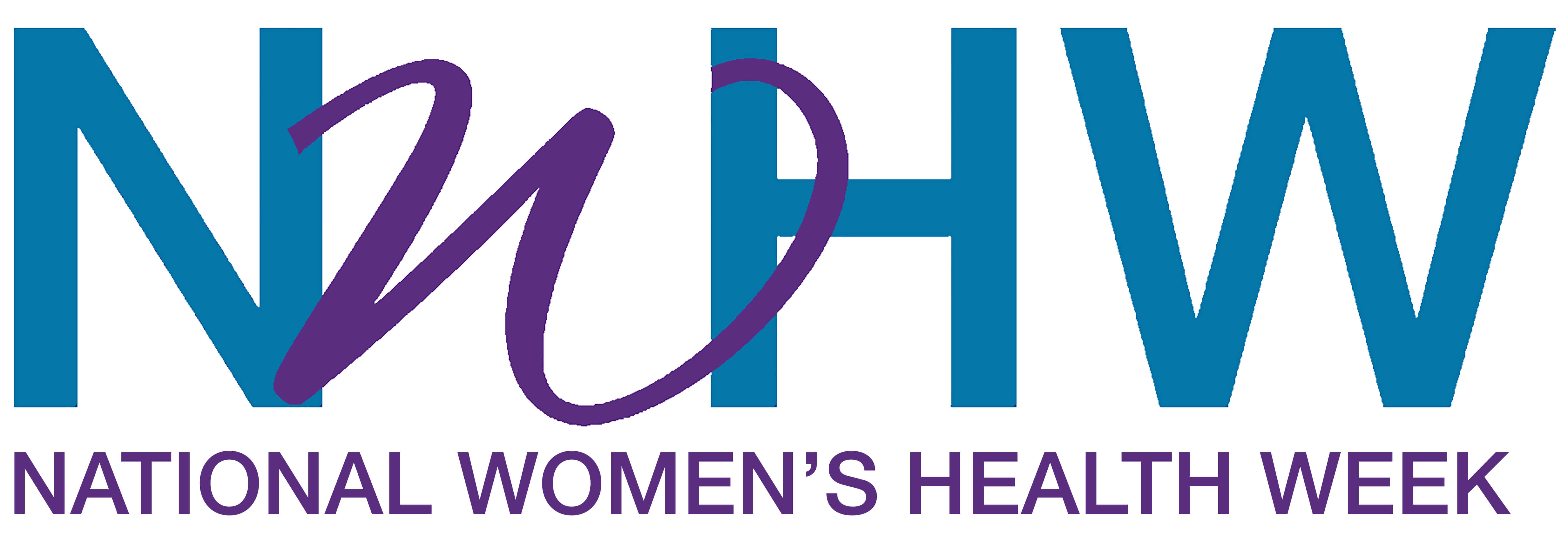 National Women's Health Week Logo