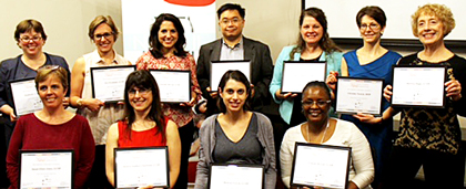 Illinois Supervisory Leaders In Aging Receive Graduates Receive Certificates In 2016