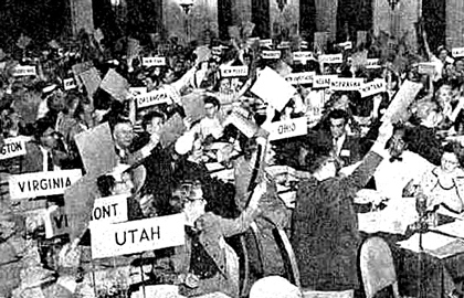 First NASW Delegate Assembly - From NASW News Archives, Volume 1, November 1955